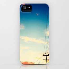 Powerlines iPhone Case