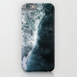 Oceanscape - White and Blue iPhone Case