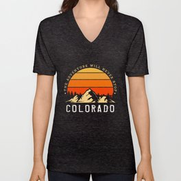 Colorado USA Unisex V-Neck