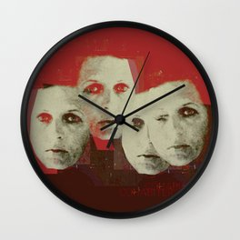 « cohabiter » Wall Clock