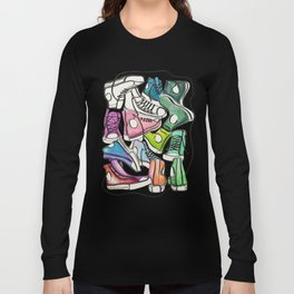 Sneaker Party Long Sleeve T-shirt