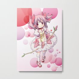 Madoka Kaname Metal Print