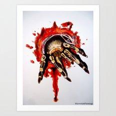 Tarantula.. Art Print