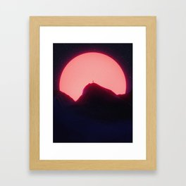 New Sun Framed Art Print