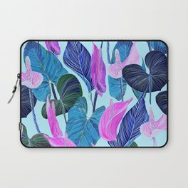 Lush Lily - cool brights Laptop Sleeve