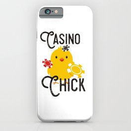 Casino Chick (2) iPhone Case
