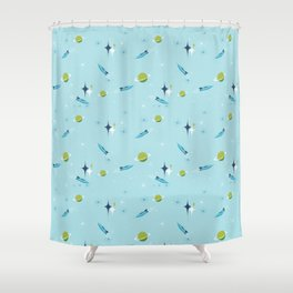 Galactic Fantasy Shower Curtain