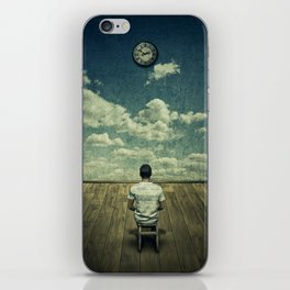 Time pressure iPhone Skin