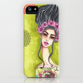 Jenny Manno Original Watercolor Painting iPhone Case