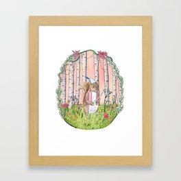 Sinclair the Squirrel Framed Art Print