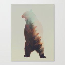 Norwegian Woods: Bear Canvas Print