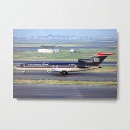 US Airways Shuttle 727-200 Metal Print