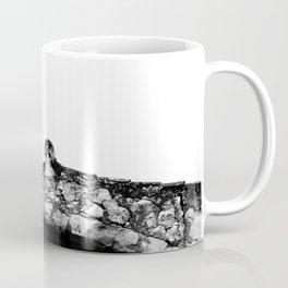 Black and white minimalistic design Coffee Mug