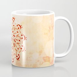Watercolor music mandala Coffee Mug