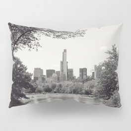 Central Park from Bow's Bridge Pillow Sham