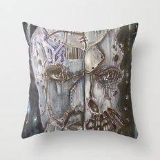 Beyond Repair Throw Pillow