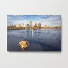 Richmond and the James River Metal Print