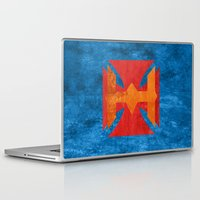 he man Laptop & iPad Skins featuring He-Man by Some_Designs