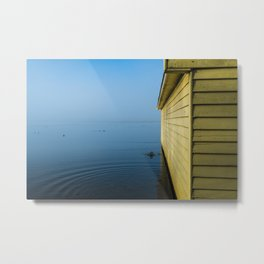 Winter Morn - The Boatshed Metal Print