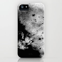 War - Abstract Black And White iPhone Case