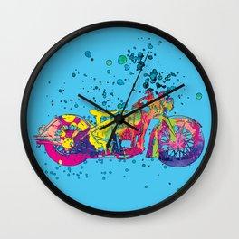 ap127-10 Motorcycle Wall Clock