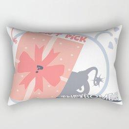 Don't Pick Up the Bomb Rectangular Pillow