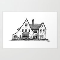Harriet House I Art Print