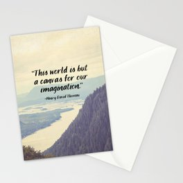 The World is a Canvas Stationery Cards