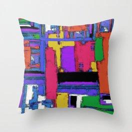 The big room Throw Pillow