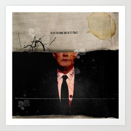 Twin Peaks | Is It Future or is It Past Art Print