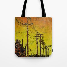 Maple Sunset Tote Bag