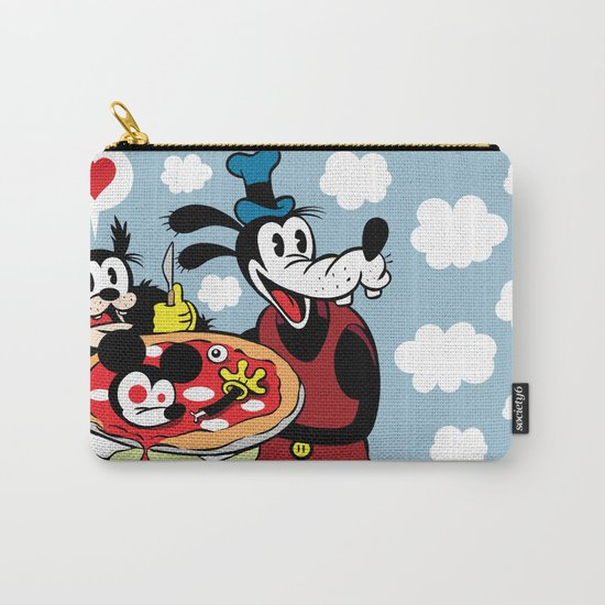 MICKEY'S PIZZA Carry-All Pouch