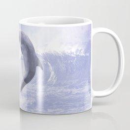 Dolphins Kisses Coffee Mug