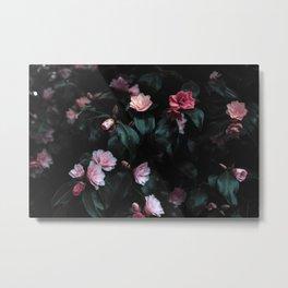 Natural Flower Pattern Metal Print
