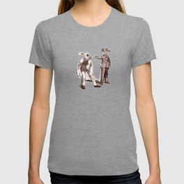 Bunny Ears Disturbance Tshirt Design T-shirt