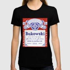bukowski X-LARGE Womens Fitted Tee Black