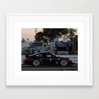 porsche Framed Art Prints featuring Porsche by Trackography