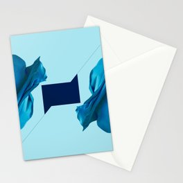 Flat cubic in minima division 180°. Three phases. B Stationery Cards