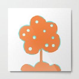 Here's A Tree Metal Print