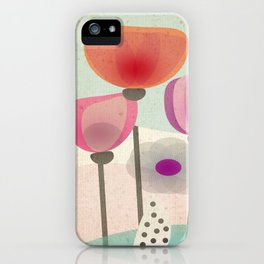 Naive Blooms iPhone Case