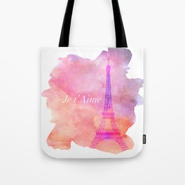 Je t' Aime Paris  Tote Bag