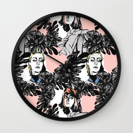 Tropical beauty Wall Clock