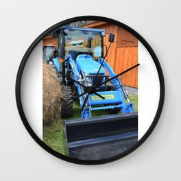 New Holland Workmaster 75 Tractor  2 Wall Clock
