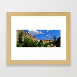 Czech Republic Framed Art Print