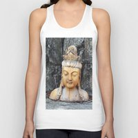 asian Tank Tops featuring ASIAN GODDESS by JANUARY FROST