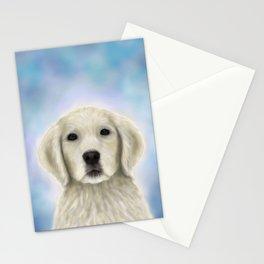 Dog 155 Golden Retriever Stationery Cards