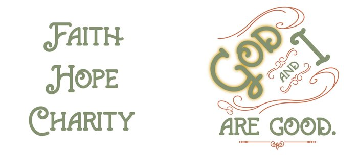 God and I are good. Light Green Coffee Mug