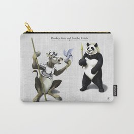 Donkey Xote and Sancho Panda Carry-All Pouch