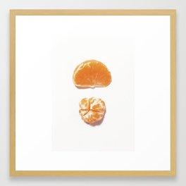 Mini clementine Framed Art Print
