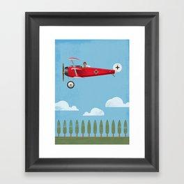 The Red Baron Framed Art Print